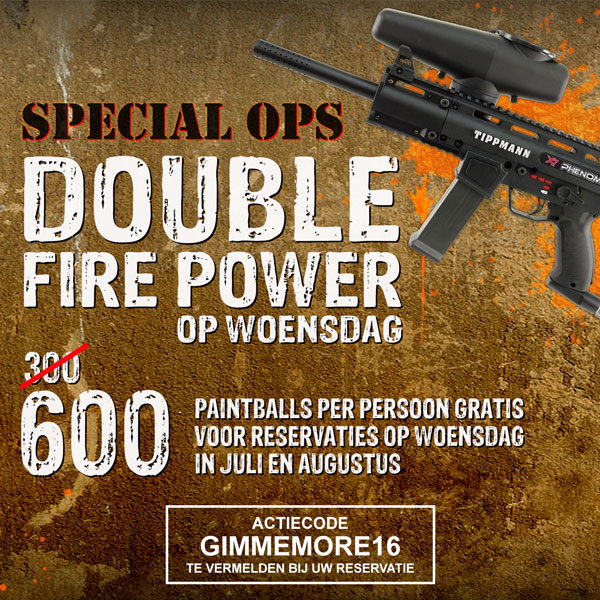 Special Ops - Double Fire Power